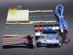 Kit Arduino Uno Smd R3 Iniciante