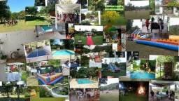Sitio para eventos evangélicos: retiros, casamentos, batismos, encontro com Deus e outros,