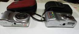 2 Câmera fotográfica kodac e Samsung / Cosmópolis
