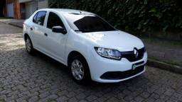 Renault Logan 1.0 Autentitic Completo Financio - 2018