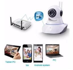 Câmera IP Robô Noturna via Wifi na Tela do celular ( Entrego) 129,90