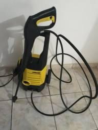 Lavadora de alta pressão com Mangueira em malha de aço profissional