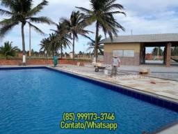 Lotes em Cond. frente Dunas e Mar, divisa praia do Guajiru + Pontal da Barra, Trairi-CE