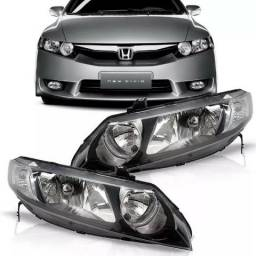 Par Farol Honda New Civic 2006 2007 2008 2009 2010 2011