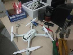 Drone hubsan h502s fpv seminovo