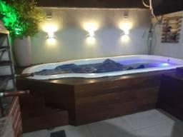 Sobrado de 2 dormitórios com piscina aquecida - Villa Flora Hortolândia
