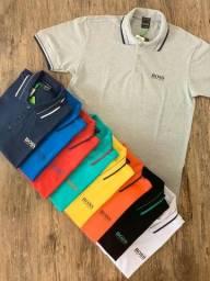 Camisa Gola Polo Hugo Boss - P ao GG