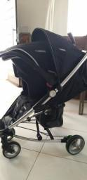 Carrinho Travel System Helios - Kiddo com bebê conforto
