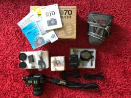 Nikon D70 Completa na Caixa