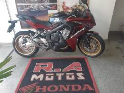 Honda/ cbr 650f aceito trocar por motos de menor valor
