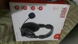 Vendo fone headset $35 pra agora