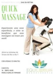 Promoção!!! Relaxe Com Apenas 15 minutos!! Quick Massage