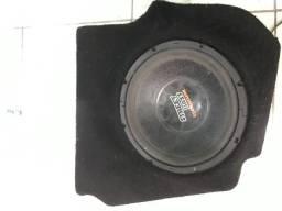 Caixa de fibra para sub woofer palio