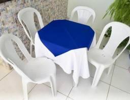 Aluguel de mesas e cadeiras r$ 7,00