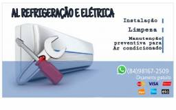 Técnico instalador de ar condicionado