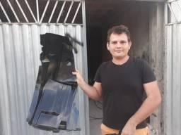 O mestre na fabricação de asa de urubu entre outras peças