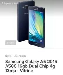 Vendo Galaxy A5 2016