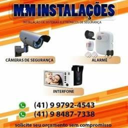 Promoção: Kit Cftv com 02 Cameras instaladas por apenas: R$ 699,00