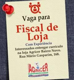 Supermercado Agricer Contrata - fiscal Loja