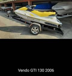 Vendo Jet sky Seadoo GTI 130 2006 64 hrs