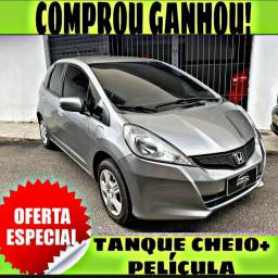TANQUE CHEIO SO NA EMPORIUM CAR!!! HONDA FIT 1.4 DX ANO 2014 COM MIL DE ENTRADA
