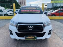 TOYOTA HILUX 2019 SRV 4x4 DIESEL AUTOMÁTICA.NA AMAZÔNIA REPASSE DE VEÍCULOS - 2019