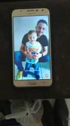 Celular j7 neo com capinha e película