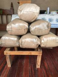 Adubo: Esterco cama de Frango puro triturado