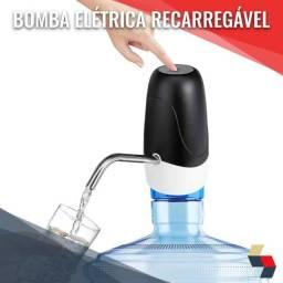 Bomba elétrica portátil recarregável para garrafão usb