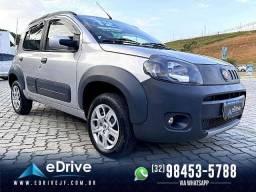 Fiat Uno Way 1.0 - Novo D+ - Baixa Km - Garantia Pós Venda
