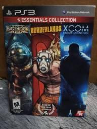 Bioshock, Borderlands e Xcom EU - 2k Essentials Collection - PS3