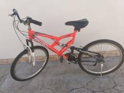 Bicicleta aro 26 Status Full - Laranja