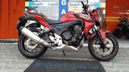 Honda Cb 500F 2015 Vermelha Ótimo Estado