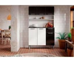 Kit Cozinha Aço 6 portas 1 gaveta Dona Maria