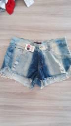 Short jeans promoção NOVO