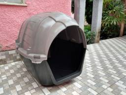 Casa tipo iglu para cão de médio a grande porte