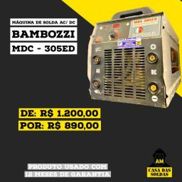 Máquina de Solda Bambozzi mdc- 305ed