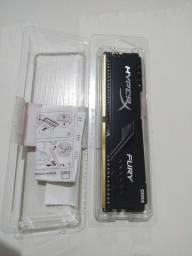 Memória RAM ddr4 hyper x 8gb