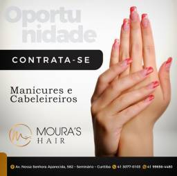 Título do anúncio: LER O ANUNCIO -Cabeleireira e manicure
