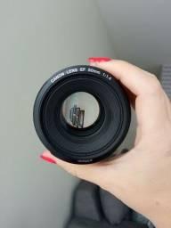 Título do anúncio: Canon 50mm F1.4