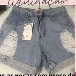 Short jeans TAM 38 lindo ?