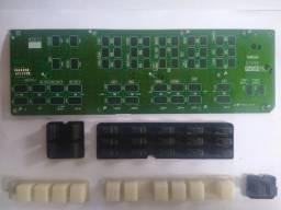 Kit Placa Pncom Pn2 X7978 Para Teclado Yamaha S550b +botões