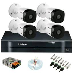 Kit CFTV instalação inclusa R$ 1.799.00