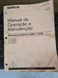 Manual Catálogo peças Retroescavadeira Caterpillar