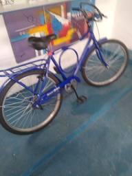 Bicicleta semi nova com nota fiscal com rolamentos aceito cartão