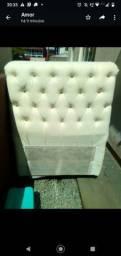 Título do anúncio: Cabeceira de cama de solteiro semi nova sem avaria