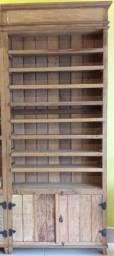 Título do anúncio: Estante de madeira de demolição