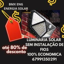 Título do anúncio: Luminaria Solar 100leds