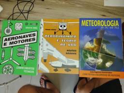 Vendo livros piloto privado