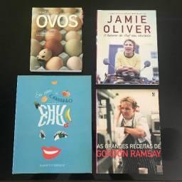 Livros de Receitas - Gastronomia - Culinaria - Apartir de R$15